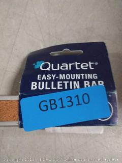 easy mounting bulletin bar