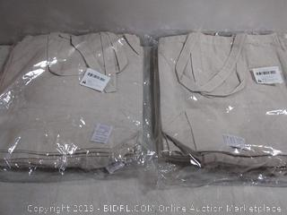 cotton canvas handle bags