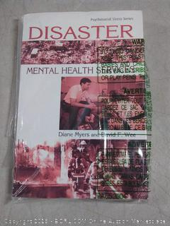 disaster Mental Health Services by Diane Meyer and David