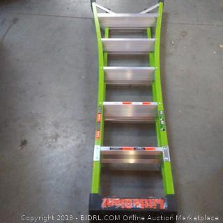 King combo fiberglass ladder