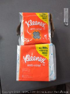 Kleenex Anti-Viral Facial Tissues 2 pack