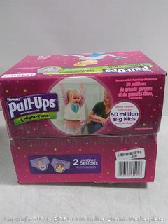 Pull-ups Learning Girls