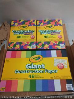 construction paper shapes