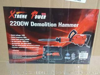 XtremepowerUS 2200Watt Heavy Duty Electric Demolition Jack (online $129)