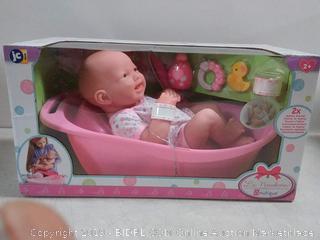 La Newborn 8-piece Deluxe bath tub gift set
