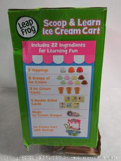 Vtech Leap Frog Scoop & Learn Ice Cream Cart