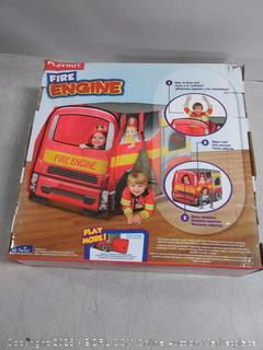 Kids Playhut Fire Engine Vehicle Firetruck Toy Tent Playhouse