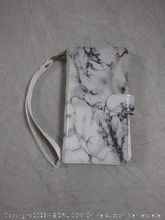 marble iPhone 7 plus and iPhone 8 plus wallet case