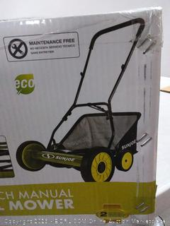 "Sun Joe® MJ502M - 20"" Manual Reel Mower with Grass Catcher"