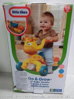 Kids Ride On Toy Little Tikes Go Grow Lil Rollin Giraffe New Trike