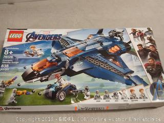 Buy LEGO Marvel Avengers: Avengers Ultimate Quinjet 76126