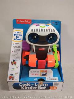 code and learn kinderbot