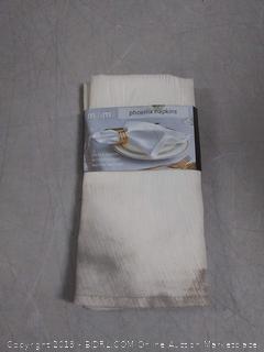"maxmill Phoenix napkins set of 4 machine washable 20""x20"""