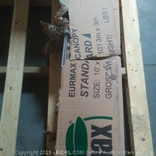 eurmax canopy standard sealed but box damage