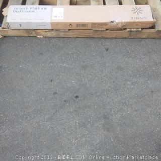 zinus 16 inch platform bed frame metal