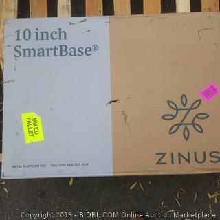 zinus metal platform bed frame 10 inch smartbase