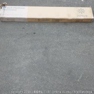 zinus platform bed frame metal