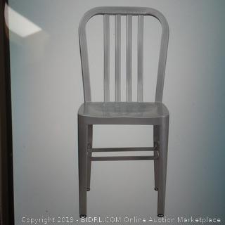 Flash Furniture Flash Furniture CH-61200-18-SIL-GG 18 Inch Metal