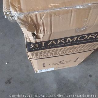 stakmore folding chair contains two