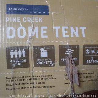 Pine Creek Dome Tent 4 person capacity