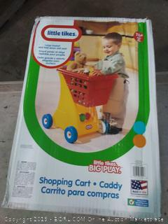Little Tikes shopping cart caddy