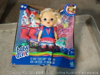 Baby Alive children's doll