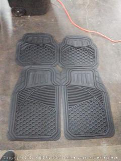 4 piece heavy duty floor mat