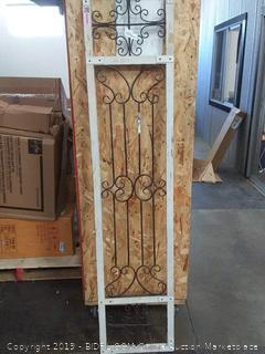 "Deco 79 63327 Wood Metal Wall Decor, 72""H x 16""W"
