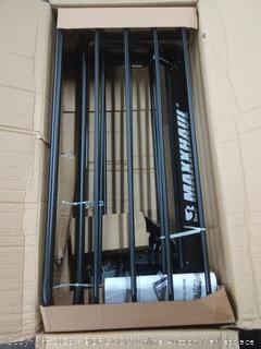 maxxhaul steel roof rack 150 lb capacity part number 70115