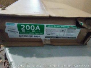 Siemens 200a box