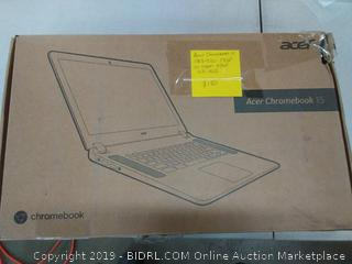 Acer Chromebook 15 $185