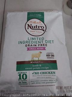 Nutro Limited Ingredient Diet Grain Free Lamb & Sweet Potato Small