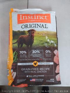 Instinct Natures Variety Grain Free Chicken Meal Original 22.5lb As