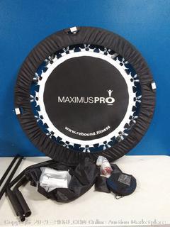 JumpSport fitness trampoline Maximus Pro (online $271)
