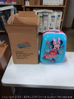 Shop American Tourister Disney Kids Minnie Mouse Hardside