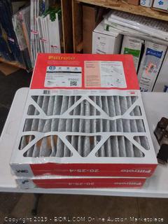 Filtrete allergen defense 20 x 25 x 4 Filter 2 pack