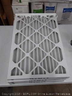 16 x 25 x 2 filters 3 pack