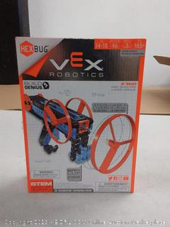 Hexbug Vex robotics disc shooter