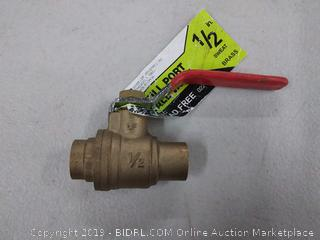 ldr full port 1/2 inch ball valve
