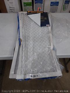 Filtrete allergen filter 14 x 30 x 1 two pack
