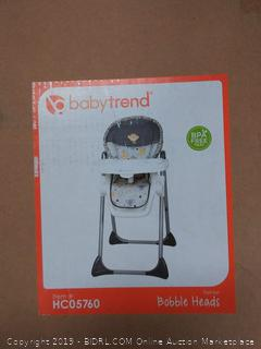 Baby Trend bobbleheads high chair