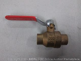 lgr full port ball valve 1/2 inch