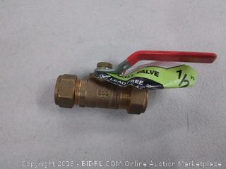 ldr half inch ball valve led free