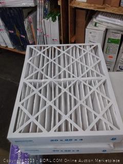20 x 25 x 4 air filter 3 pack