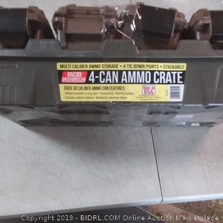 4 can ammo crate