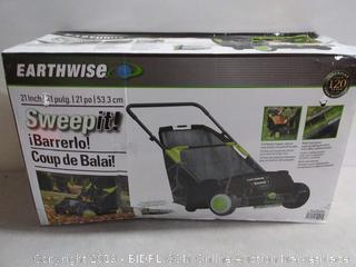 "Earthwise LSW70021 21"" Yard Sweeper (online $84)"