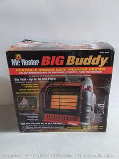 Mr. Heater Corporation MH18B Portable Propane Heater, Red (online $123)