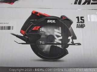 SKIL 5280-01 15-Amp 7-1/4-Inch Circular Saw with Single Beam Laser Guide box damage