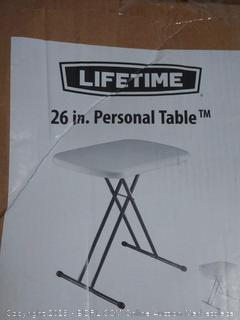 26-inch personal table