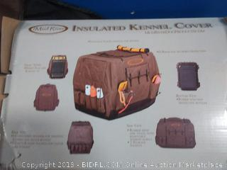 Mud River Dixie Large Brown Insulated Kennel Cover (online $99)